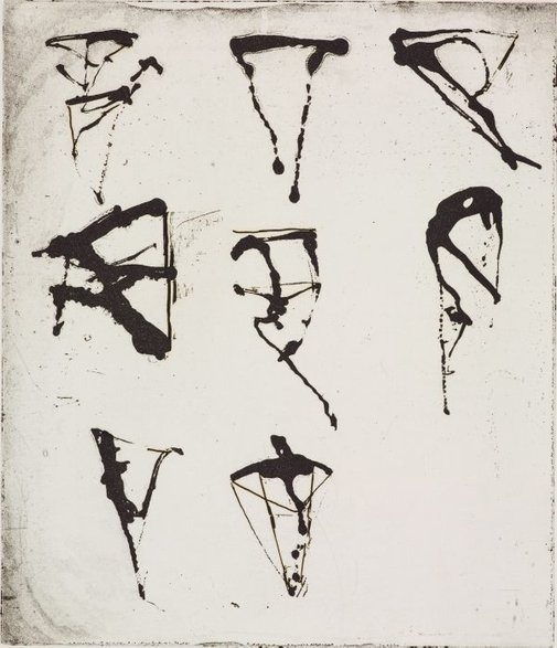 An image of 2 by Brice Marden