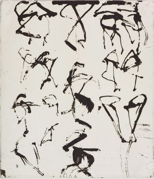 An image of 5 by Brice Marden