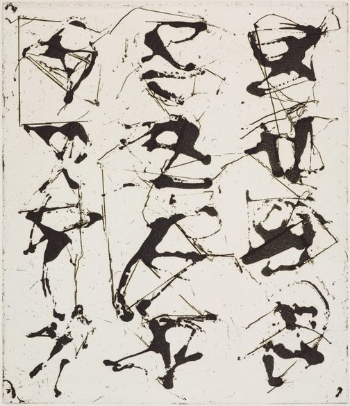 An image of 6 by Brice Marden