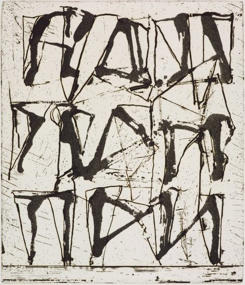 An image of 7 by Brice Marden