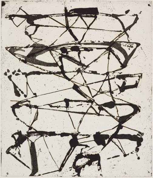 An image of 8 by Brice Marden