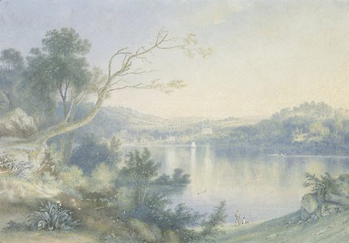An image of Sharp's Bay, Sydney by Henry Curzon Allport