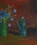 Alternate image of Cornflowers by Margaret Olley