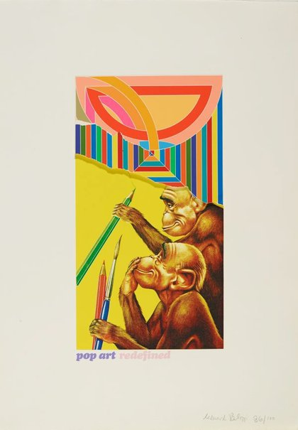 An image of Pop art redefined by Sir Eduardo Paolozzi