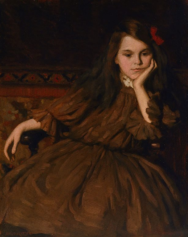 An image of A study in brown