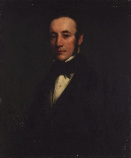 An image of Self-portrait (in his 20s?) by Henry William Pickersgill