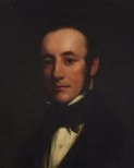 Alternate image of Self-portrait (in his 20s?) by Henry William Pickersgill