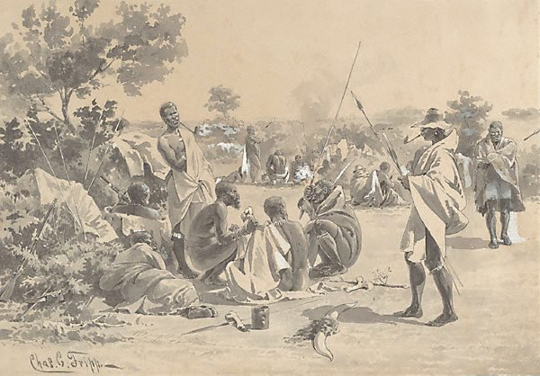 An image of Sketches from the Zulu War (1)