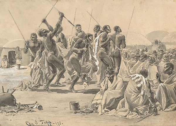 An image of Sketches from the Zulu War (2)