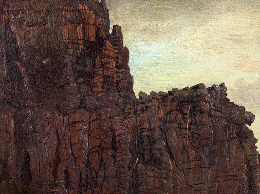 Alternate image of Tunnel Rock, Cape Schanck, Victoria by Nicholas Chevalier