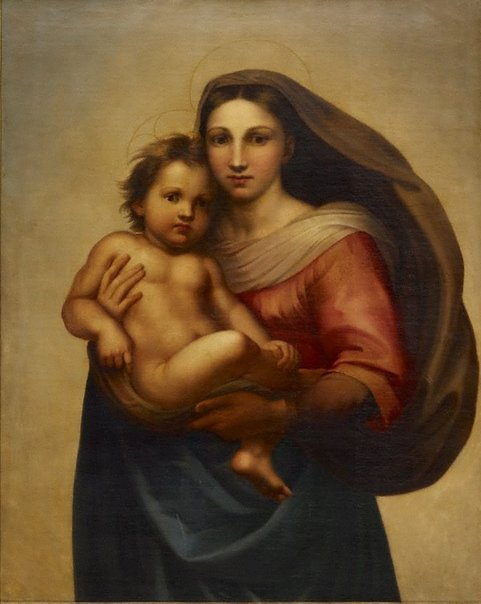 An image of Madonna di San Sisto by Unknown, after Raphael