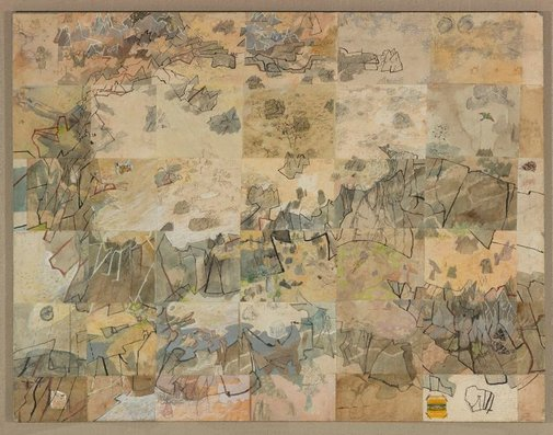 An image of Six visits to the almost unknown plateau near Lillimilura police station ruins, Western Australia by John Walter Wolseley