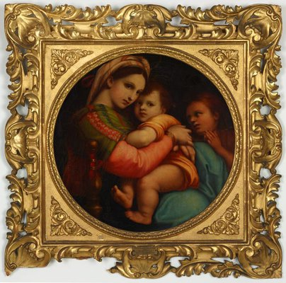 Alternate image of Madonna della Sedia by Unknown, after Raphael