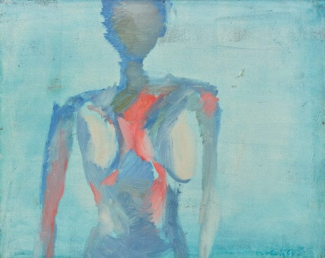 An image of Blue torso