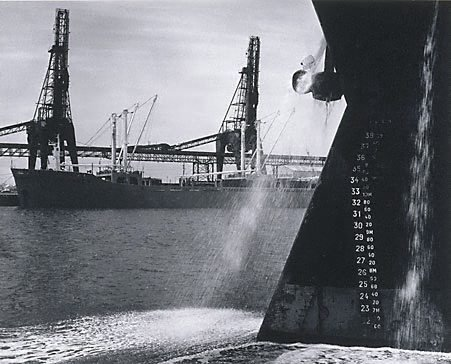 An image of Container ships at Newcastle