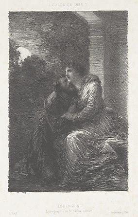 An image of Lohengrin by Henri Fantin-Latour