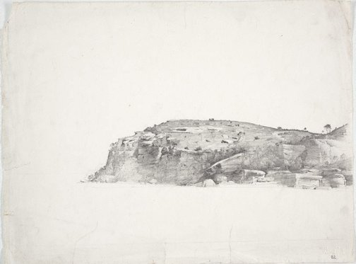 An image of Balls Head, Sydney Harbour by Lloyd Rees
