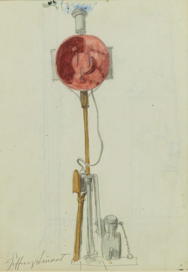 An image of Study for 'Civitavecchia' 1968