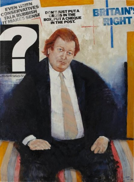 An image of Portrait of Lord McAlpine by Clifton Pugh