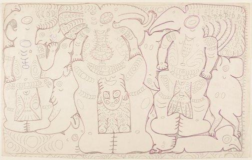 An image of Deman spirits by Simon Nowep