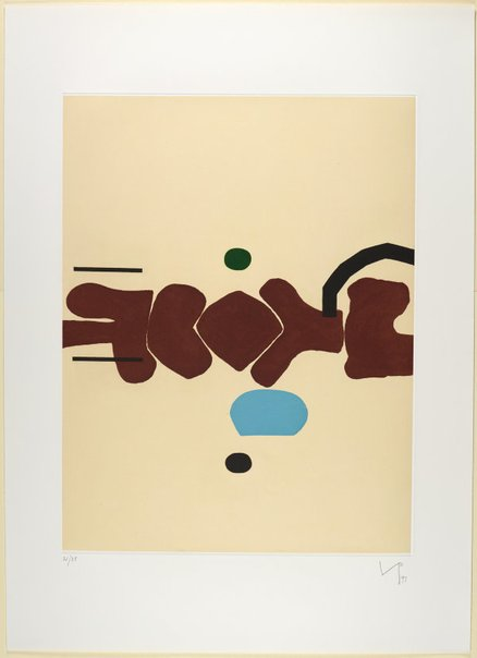 An image of When reasons dream II by Victor Pasmore
