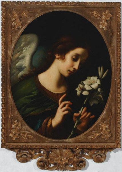An image of The Angel of the Annunciation by Unknown, after T Berti, after Carlo Dolci