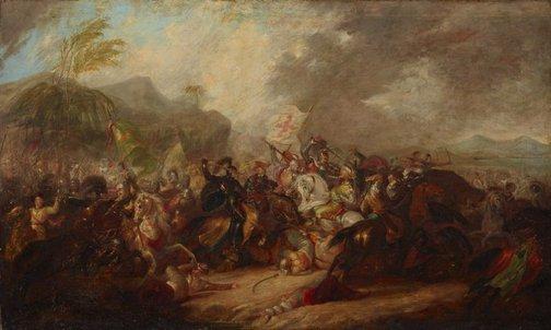 An image of Battle of Joppa by attrib. George Jones
