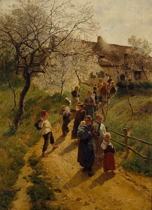 An image of A spring day