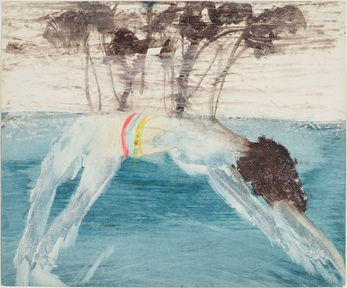 An image of Diver by Sidney Nolan