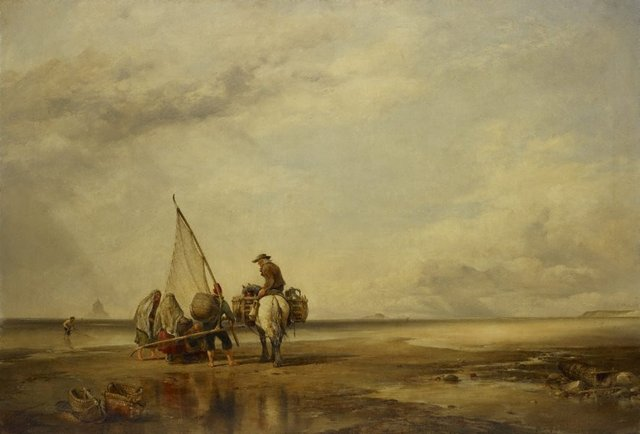An image of Mont St Michel-Shrimpers