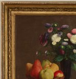 Alternate image of Flowers and fruit by Henri Fantin-Latour