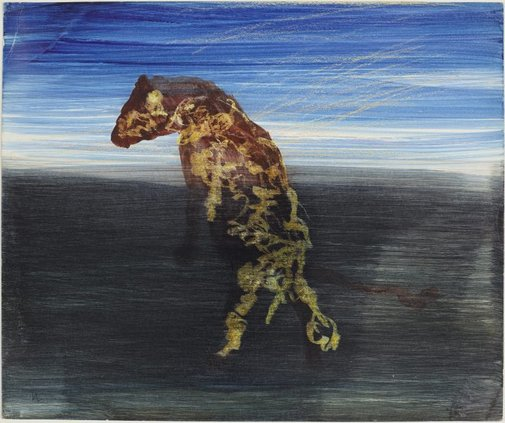 An image of Hyena by Sidney Nolan