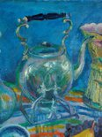 Alternate image of Still life with kettle by Margaret Olley