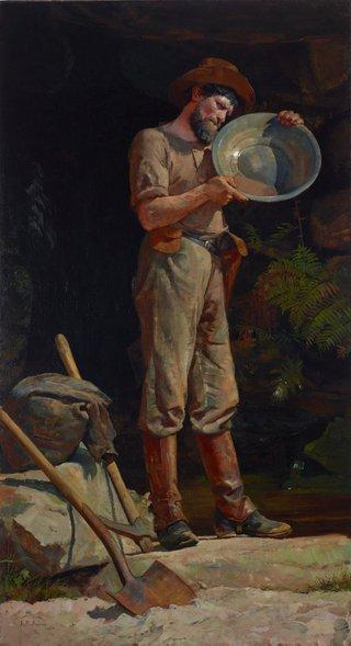 AGNSW collection Julian Ashton The prospector (1889) 4554