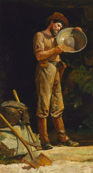 An image of The prospector by Julian Ashton
