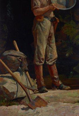 Alternate image of The prospector by Julian Ashton