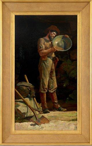 AGNSW collection Julian Ashton The prospector 1889