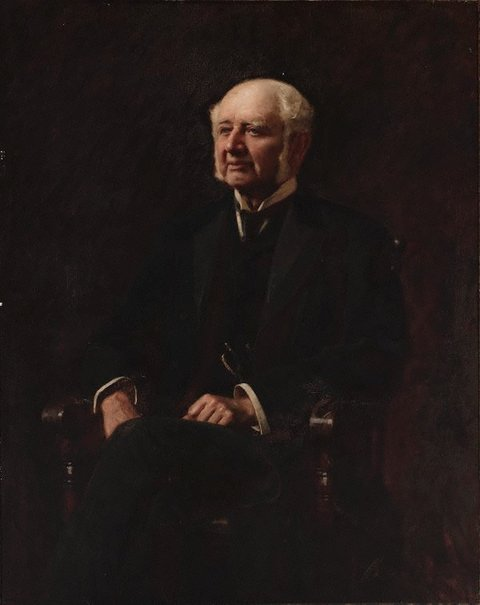 An image of Sir Edward Knox by John Longstaff
