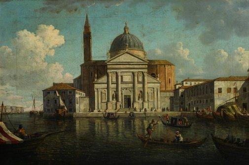 An image of San Giorgio Maggiore, Venice by William Marlow
