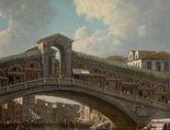 Alternate image of The Rialto bridge, Venice by William Marlow
