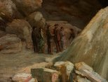 Alternate image of Devil's Coach-house, Fish River Caves by Lucien Henry