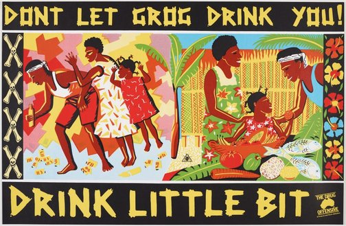 An image of Drink little bit by Marie McMahon, Redback Graphix