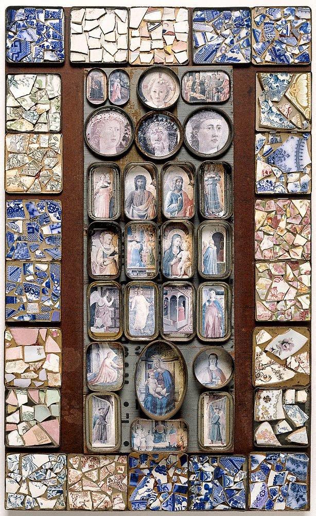 Mosaic, (1976) by Rosalie Gascoigne