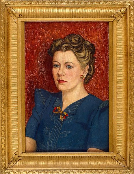 An image of Miss Suzanne White by Roy de Maistre