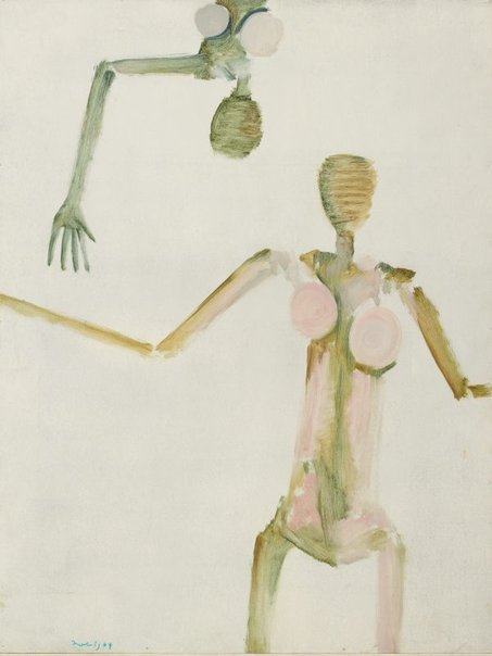 An image of Nude and a half by Jon Molvig