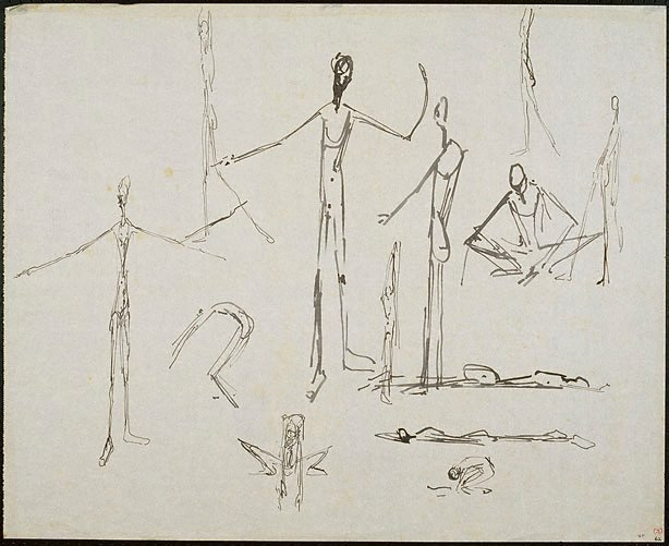 An image of Elongated figures