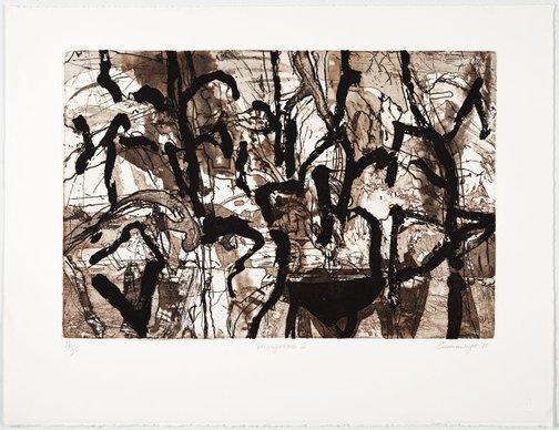 An image of Mangroves II by Elisabeth Cummings