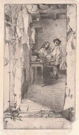 An image of The rag gatherers