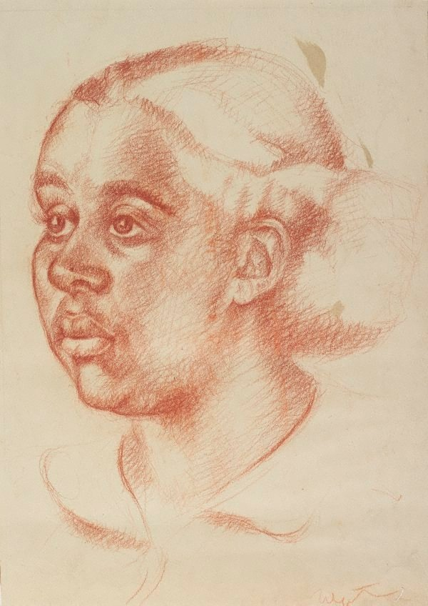 An image of (Portrait of a young woman)