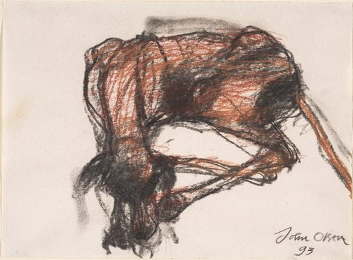 An image of (Sleeping dog) by John Olsen